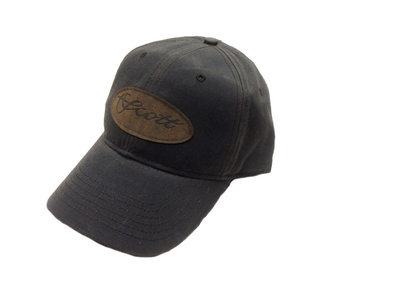 Scott Cap Waxed/Leather Patch