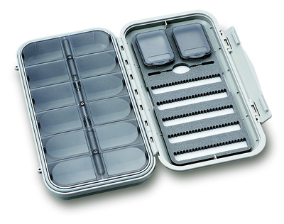 C&F Large 5-Row Dry & Nymph WP Fly Case w 12 Comp