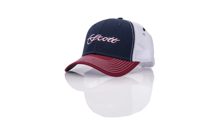 Scott Cap Tri-Color Trucker